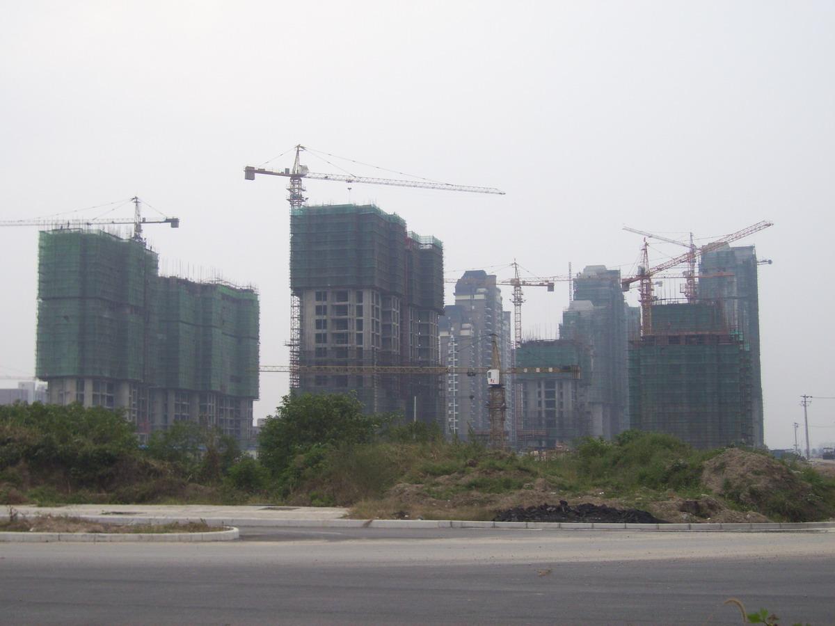 建设中的安庆东部新城 摄影沙龙 安庆E网