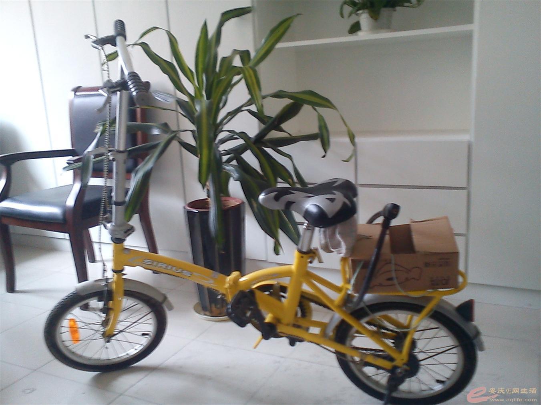 已卖 出售小型自行车一辆,成人小孩均可使用 有图